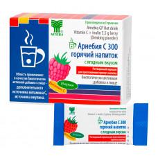 АРНЕБИЯ C 300 горячий напиток с ягодным вкусом, 10 пакетиков по 5,5 г